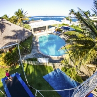 Pool, rogue fitness cabarete, mojito bar extreme, kaiceitos circus, the yoga loft, and gokite cabarete