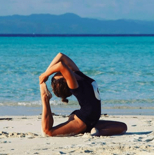 Sophia Yoga teacher