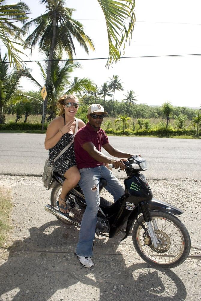 Moto-concho in Cabarete