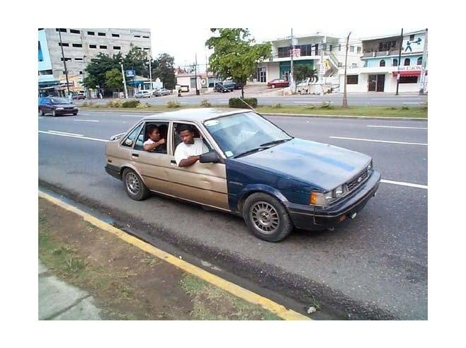 public car in the Dominican Republic