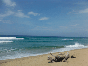 Small Swell at Encuentro, Cabarete means easy pop-ups