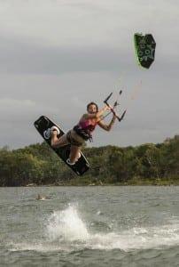 Kiteboarding in Cabarete