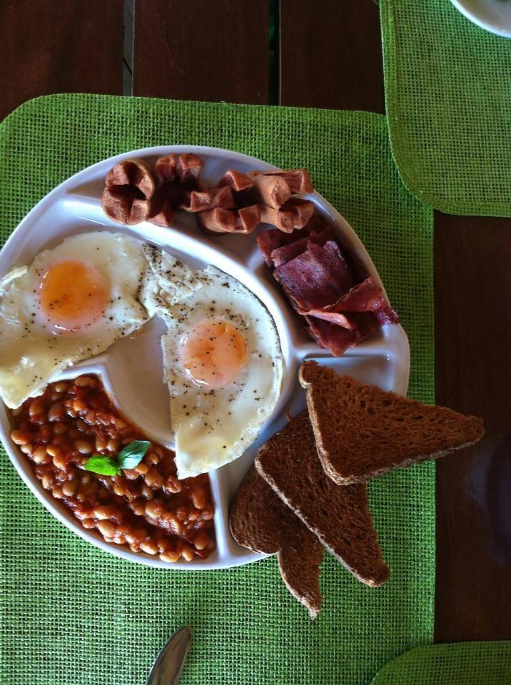 The Londra breakfast at Mojito eXtreme