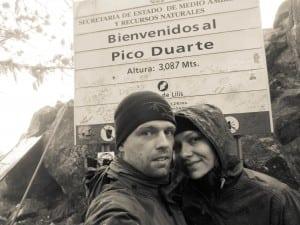 Hiking pico duarte