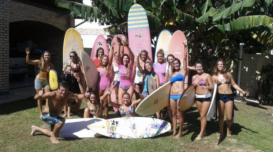 womens yoga surf retreat