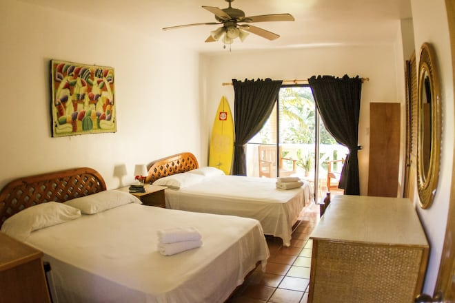 Basic Double room at the extreme hotel on kite beach