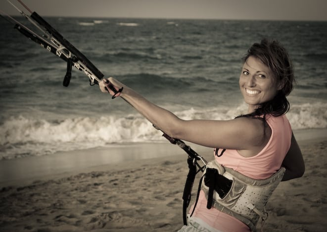 womens kiteboarding