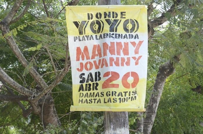 Dominican Concert Poster. Manny Jovanny