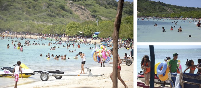 Dominican Sundays at the Beach