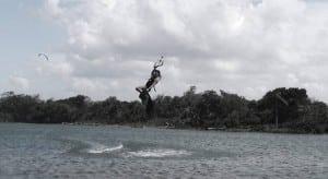 Kiteboarding at La Boca