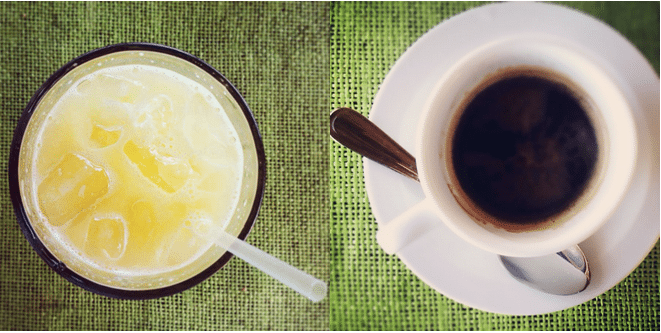 coffee and fresh juicehttp://wetravelandblog.com/