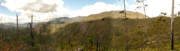 Landscape around Pico Duarte