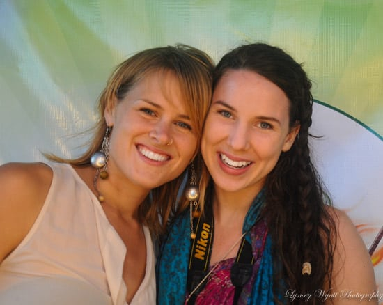 A photo of myself and Monica Rush from my first event photography gig at the Mojito Bar Cabarete Festival!