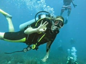 Scuba diving in sosua, 15 minutes from Cabarete