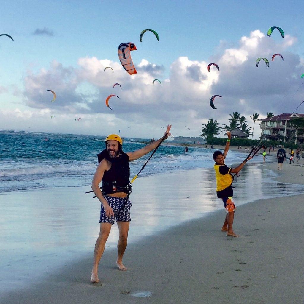 kitesurf at eXtreme hotel cabarete