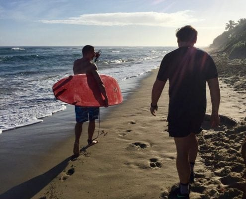 surfing encuentro cabarete extreme hotel