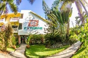 entrance eXtreme hotel Cabarete