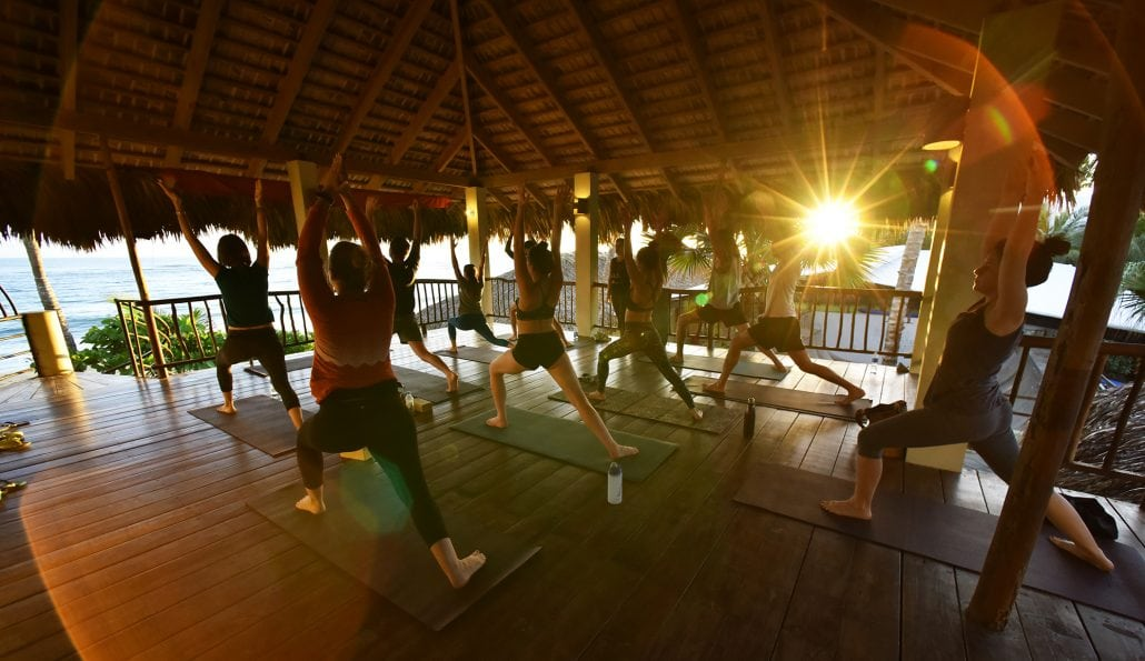 all-inclusive amenities at eXtreme Hotel beachfront Yoga