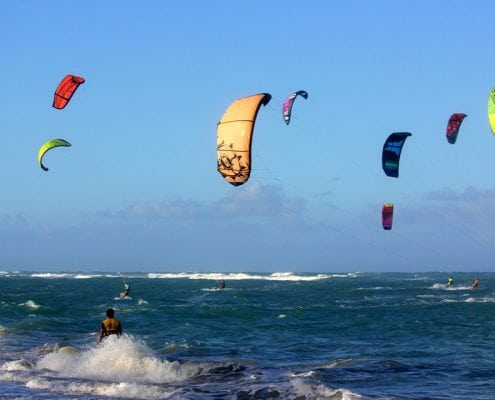 it's all about kiting
