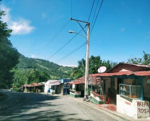 Driving to Jarabacoa