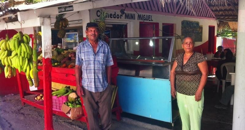 Dominican Food in Cabarete