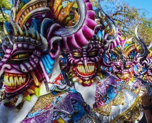 Carnaval in the Dominican Republic - La Vega